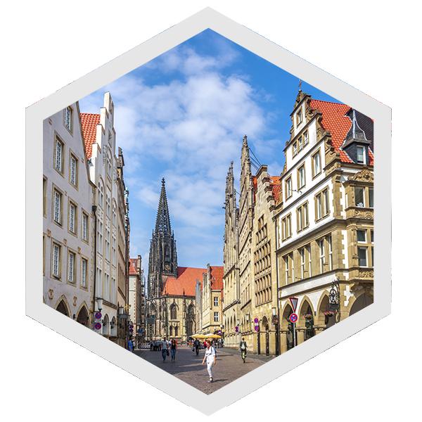 CityGames Münster: Classic Tour – der Klassiker, um Münster kennen zu lernen
