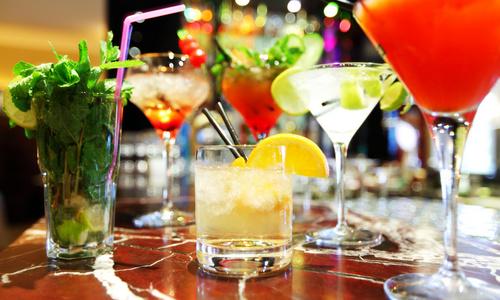 CityGames Münster: Cocktails zum Start der Party